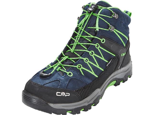 CMP Campagnolo Rigel Mid WP - Calzado Niños - verde/azul